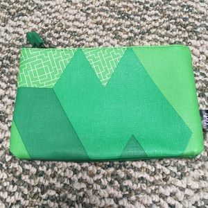5/$15 Green Tetris Ipsy Cosmetic Bag